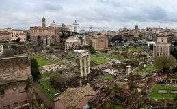 View from Palatine Hill stock photos