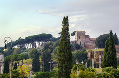 View of Palatine, Rome Stock Photography