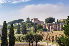 View of Palatine, Rome Royalty Free Stock Photography