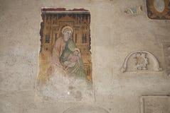 View of Palazzo della Ragione. Asolo, Italy - March 26, 2018 : View of Palazzo della Ragione paintings stock image