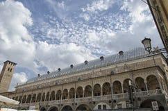The Palazzo della Ragione of Padua. View of the Palazzo della Ragione of Padua royalty free stock photos