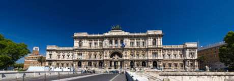 View of Palazzo di Giustizia in Rome, Italy Stock Photography
