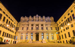 View of Palazzo Ducale in Genoa Royalty Free Stock Photography