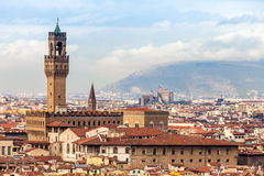 View Of Palazzo Vecchio, Florence Royalty Free Stock Image