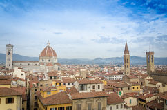 View from Palazzo Vecchio Royalty Free Stock Photo