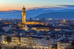 View of Palazzo Vecchio, Florence, Italy Royalty Free Stock Image