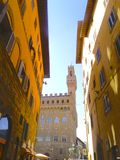 View of the Palazzo Vecchio Royalty Free Stock Image