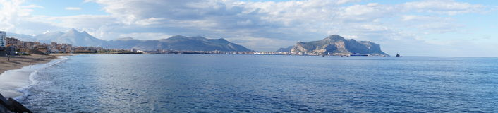 View Palermo Royalty Free Stock Image
