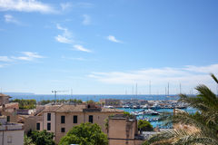 View of Palma de Mallorca Stock Photos