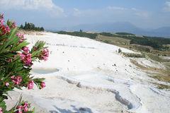 View of Pamukkale. Royalty Free Stock Photos