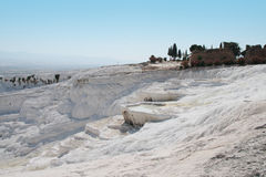 View of Pamukkale Royalty Free Stock Photos