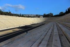 View of Panathinaikó Stadium stock images