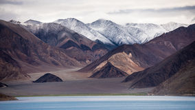 View of Pangong Tso Lake Royalty Free Stock Photography
