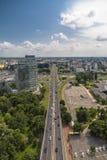 View of Panonska Cesta street Royalty Free Stock Photos