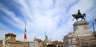 View of panorama Rome, Italy Stock Photography