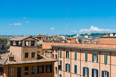 View of panorama Rome, skyline Stock Photo
