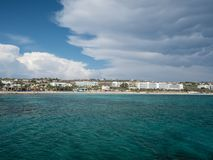 The Pantachou Beach in Ayia Napa/Cyprus Stock Image