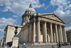 Pantheon. View on the Pantheon in Paris Royalty Free Stock Photography
