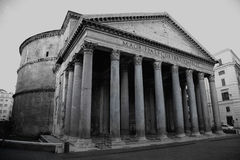 View of Pantheon in Rome, Italy Royalty Free Stock Images