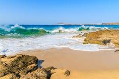 View of Papagayo beach Royalty Free Stock Photo