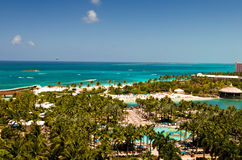 View of Paradise Island Beach Stock Photo