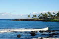 A view on paradise off the Big Island of Hawaii Stock Photography