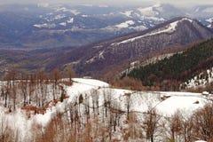 View on parang mountains Royalty Free Stock Image