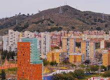 View from Parc Turo in Barcelona Stock Photography