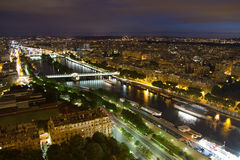 View of Paris Royalty Free Stock Photography