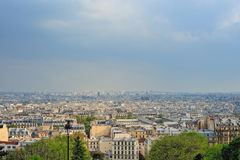 View of Paris Stock Photography