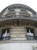 View in Paris. View on a Building in Paris, France Royalty Free Stock Images