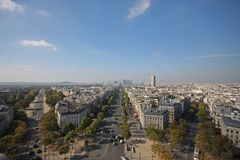 View of Paris Royalty Free Stock Image