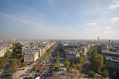 View of Paris Royalty Free Stock Photo
