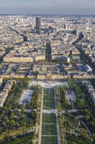 View on Paris from above Royalty Free Stock Photos