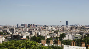 View of Paris from above Stock Photos