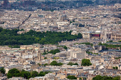 View of Paris from above. Stock Image
