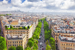 View of Paris Stock Images