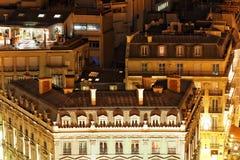 View of Paris. From the Arc de Triomphe.Paris Royalty Free Stock Photo