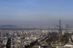 View of Paris City Royalty Free Stock Photos
