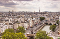 View of Paris city Stock Photography