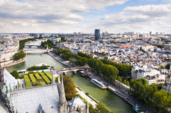 View of Paris city Royalty Free Stock Photography