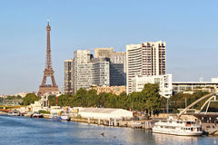 View on Paris city, France Stock Photography