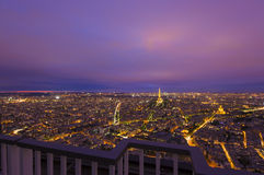 View of Paris city, France Royalty Free Stock Photo