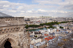 View of Paris city Royalty Free Stock Image