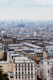 View of Paris with Pantheon Stock Images
