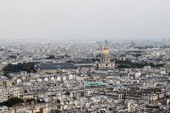 View of Paris city, second Stock Image