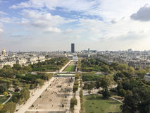 View of Paris from the Eiffel tower. View of Paris from different point of view Royalty Free Stock Image