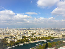View of Paris from the Eiffel tower. View of Paris from different point of view Stock Photography