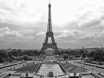 View of Paris, France stock photography