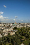 A view of Paris Royalty Free Stock Photography